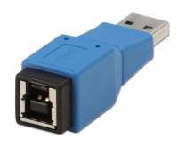 lindy 71250 a male to b female usb 30 adapter