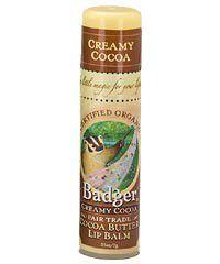 Photo of Badger Creamy Cocoa Lip Balm