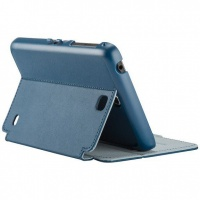 speck galaxy tab 4 stylefolio 7 inch cover blue and grey