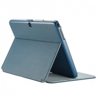 speck galaxy tab 4 stylefolio 101 inch cover blue and grey