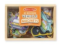 melissa and doug vehicle magnet set boat