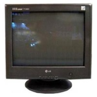lg t713sh 17 inch screen crt black monitor