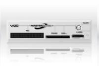 vizo mtp 101 wh master panel for 525 inch bay white