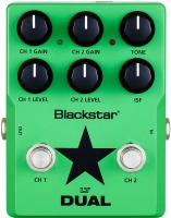 blackstar lt dual distortion overdrive guitar effects pedal mtb clipless pedal