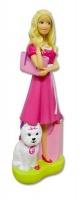 barbie 3d bubble bath figurine bath toy