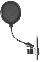 on stage asvs6 b 6 microphone pop filter microphone