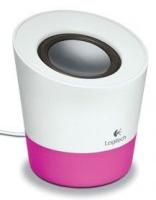 logitech z50 speaker whitepink