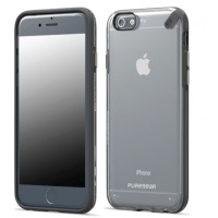 puregear slim shell 47 case for iphone 6 clear black