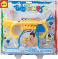 alex toys water trumpet bath toy