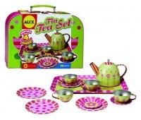 alex toys tin tea set pretend play