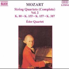 Eder Quartet String Quartets Vol2