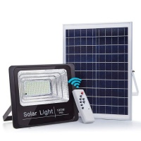 100W Solar LED Outside Flood Light with Remote control