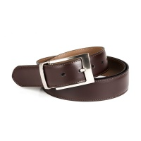 Urban Accessories Collection UAC Genuine Leather Formal Brown Mens Belt