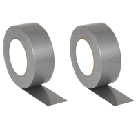 Zenith Duct Tape Silver Grey Pack of 2