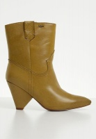 Womens Plum Embellished boot tan