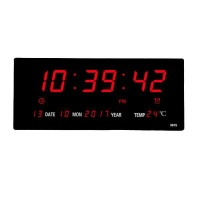 Digital Calendar Display LED Clock