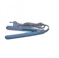 Kiddies Portable Hair Curler Straightener Powder Blue