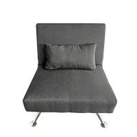 Relax Furniture Mason Single Sleeper Couch Grey