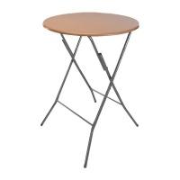 Eco Beechwood Foldable Table with Metal Legs