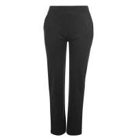 LA Gear Ladies Open Hem Jogging Pants Charcoal Marl Parallel Import