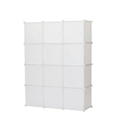 Gretmol Stackable Storage Cubes White