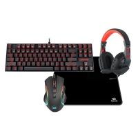 Redragon 4in1 RGB Gaming Bundle Keyboard Mouse Headset MousePad