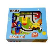 5 Pieces Of 3D Mini Car Puzzle Maze Toy