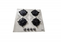 Decorist Home Gallery Legacy Gas Stove Cooktop Quadruple Burners Portable Tempered Glass Top