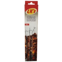 LKs LKs Kebab LocksSosatie Braai Stokkies 6 Piece