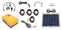 Eurolux Solar Kit 10w With 4 Bulbs