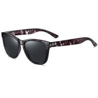 GQ Retro Polarized Sunglasses Black Camo Black