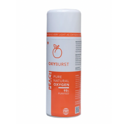 Photo of Oxyburst Pure Natural Peach Flavoured Oxygen 2L