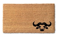 Natural Coir Doormat Buffalo Design 700 x 400mm