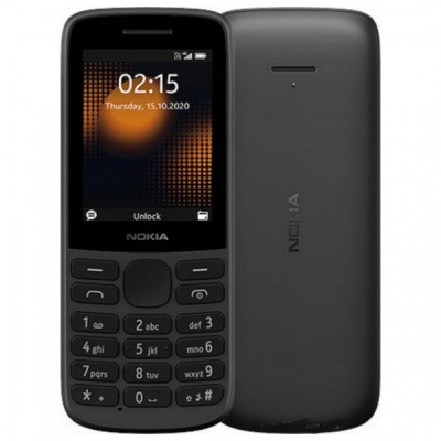 Photo of Nokia 215 4G - Black Cellphone