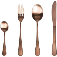 Tognana Odette 24 Piece 1810 Rose Gold Cutlery Set