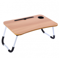 Portable Foldable Laptop Stand Desk for Bed Sofa