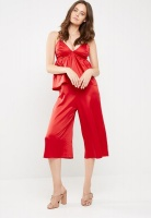 Womens dailyfriday Cami jumpsuit red