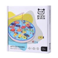 Playful Panda Magnetic Alphabet Fishing Game