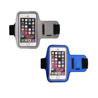 Armband Smartphone Case for Sports Universal Fit 2 Pack BlueGrey