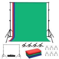 PULUZ 2m x 2m Photo Studio Backdrop Kit