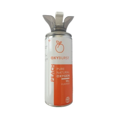 Photo of Oxyburst Pure Natural Canned Peach Flavoured Oxygen 6L