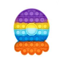 Octopus Pop It Bubble Fidget Toy Rainbow