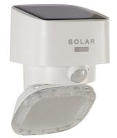 Eurolux Wall Light Solar Mars Solar And Sensor White