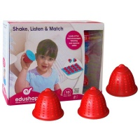 edushape Shake Listen Match Sound Based Memory Game
