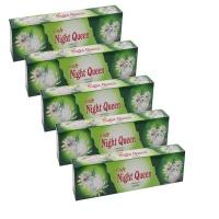 Lucky Star Night Queen Premium Quality Incense Sticks 5 Pack 300 Sticks