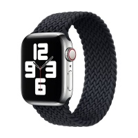 Apple Black Braided Solo Loop Strap for 4244mm Watch L