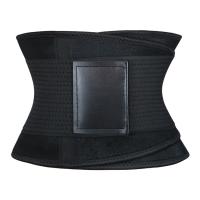 High Quality Black Waist Trainer Compression Fitness Belt Black