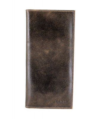 Bossi Distressed Travel Wallet