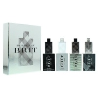 Burberry Brit For Him Collection Mini 4 Piece Gift Set