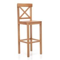 Decorist Home Gallery Natural Bar Chair